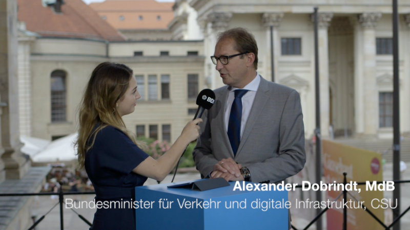 Statement mit A. Dobrindt